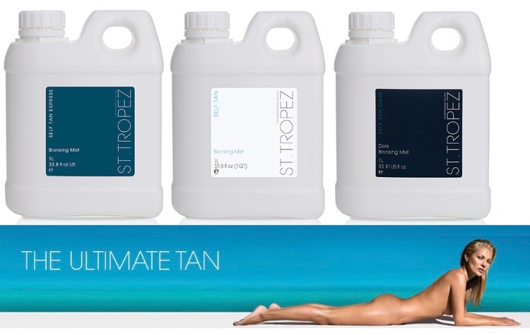 spray tanning solution